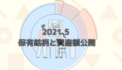 【資産公開】2021年5月末時点の保有銘柄と投資資産額公開